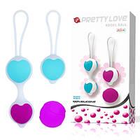 Комплект вагинальных шариков для тренировки интимных мышц Pretty Love Kegel Ball Set