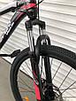 Спортивный горный велосипед Toprider 611 26 дюймов колеса Розовый Спортивный велосипед Топ райдер, фото 7