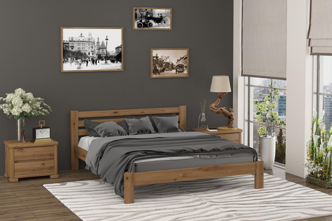 Кровать из натурального дерева Колумбия