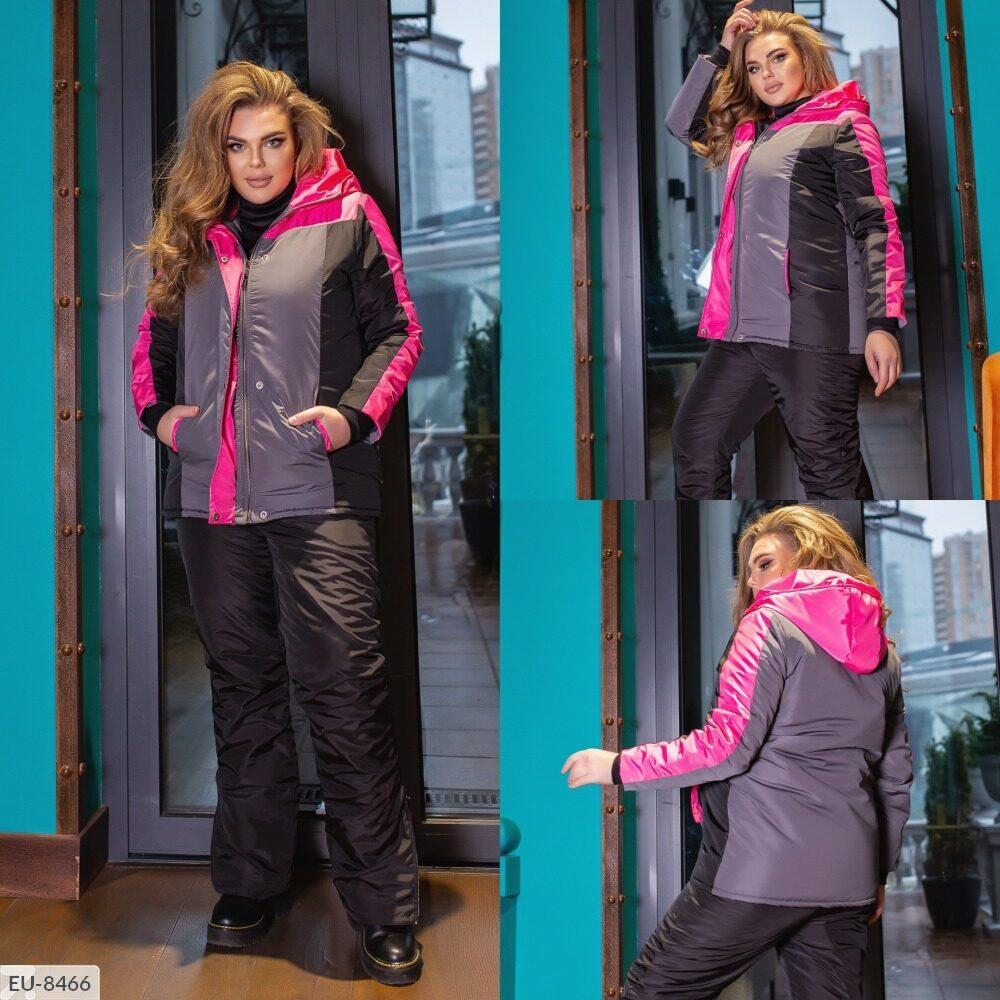 Женский лыжный костюм (Батал)