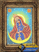 Схема иконы для вышивки бисером - Остробрамская Пресвятая Богородица, Арт. ИБ4-010-2
