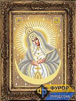 Схема иконы для вышивки бисером - Остробрамская Пресвятая Богородица, Арт. ИБ4-010-3