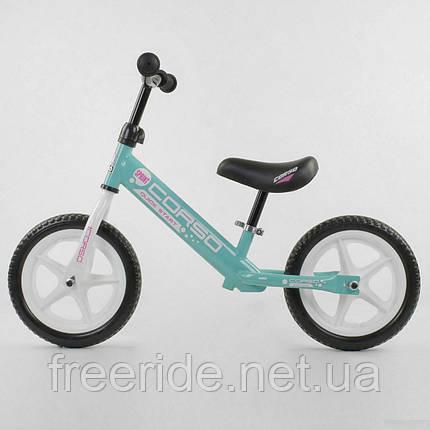 """Велобег CORSO 12"""" стальная рама, колесо EVA (ПЕНА), фото 2"""