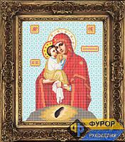 Схема иконы для вышивки бисером - Почаевская Пресвятая Богородица, Арт. ИБ3-016