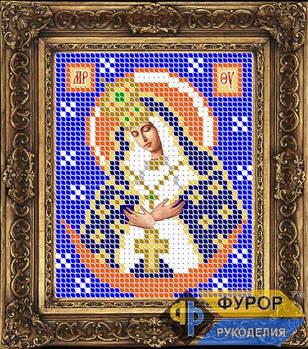 Схема для вышивки бисером иконы Остробрамская Пресвятая Богородица (ИБ6-007)