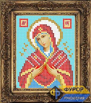 Схема для вышивки бисером иконы Семистрельная Пресвятая Богородица (ИБ6-008)