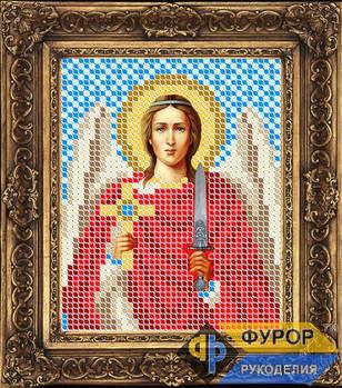 Схема для вышивки бисером иконы Ангел Хранитель (ИБ6-011)