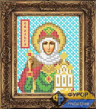 Схема для вышивки бисером иконы Ольга Святая Княгиня (ИБ6-012)