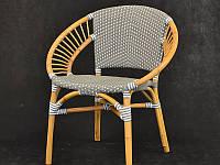 CRUZO Обідній стілець Хотин CRUZO натуральний ротанг st08209