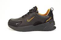 Мужские кроссовки весенние, осенние Nike (Найк) Air Black черные 40-45 (41)