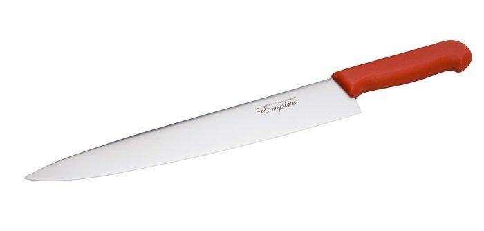 Ніж професійний з червоною ручкою L 325 мм (шт)