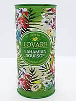 Чай зеленый с саусепом и лепестками орхидеи Lovare Багамский саусеп 80 г