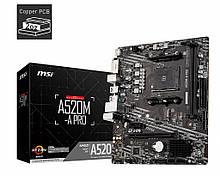 MSI A520M-A Pro Socket AM4