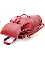 Стильный женский кожаный рюкзак от SK Leather Collection RED