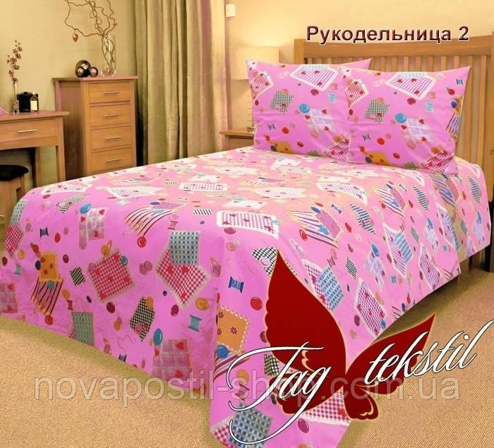 Комплект подросткового постельного белья ТМ TAG Рукодельница 2