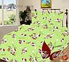 Детский постельный комплект ТМ TAG Hello Kitty green