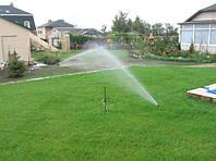 Автоматический полив газона для яркой и сочной зелени