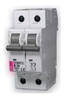 Автоматические выключатели ETIMAT 6, 6A, 2 p
