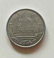 5 франків Французька Полінезія 1994 р., фото 1