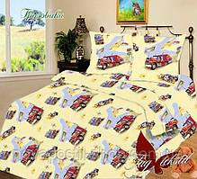 Комплект детского постельного белья ТМ TAG Грузовики