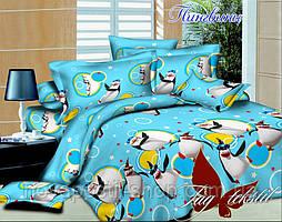 Комплект подросткового постельного белья ТМ TAG Пингвины