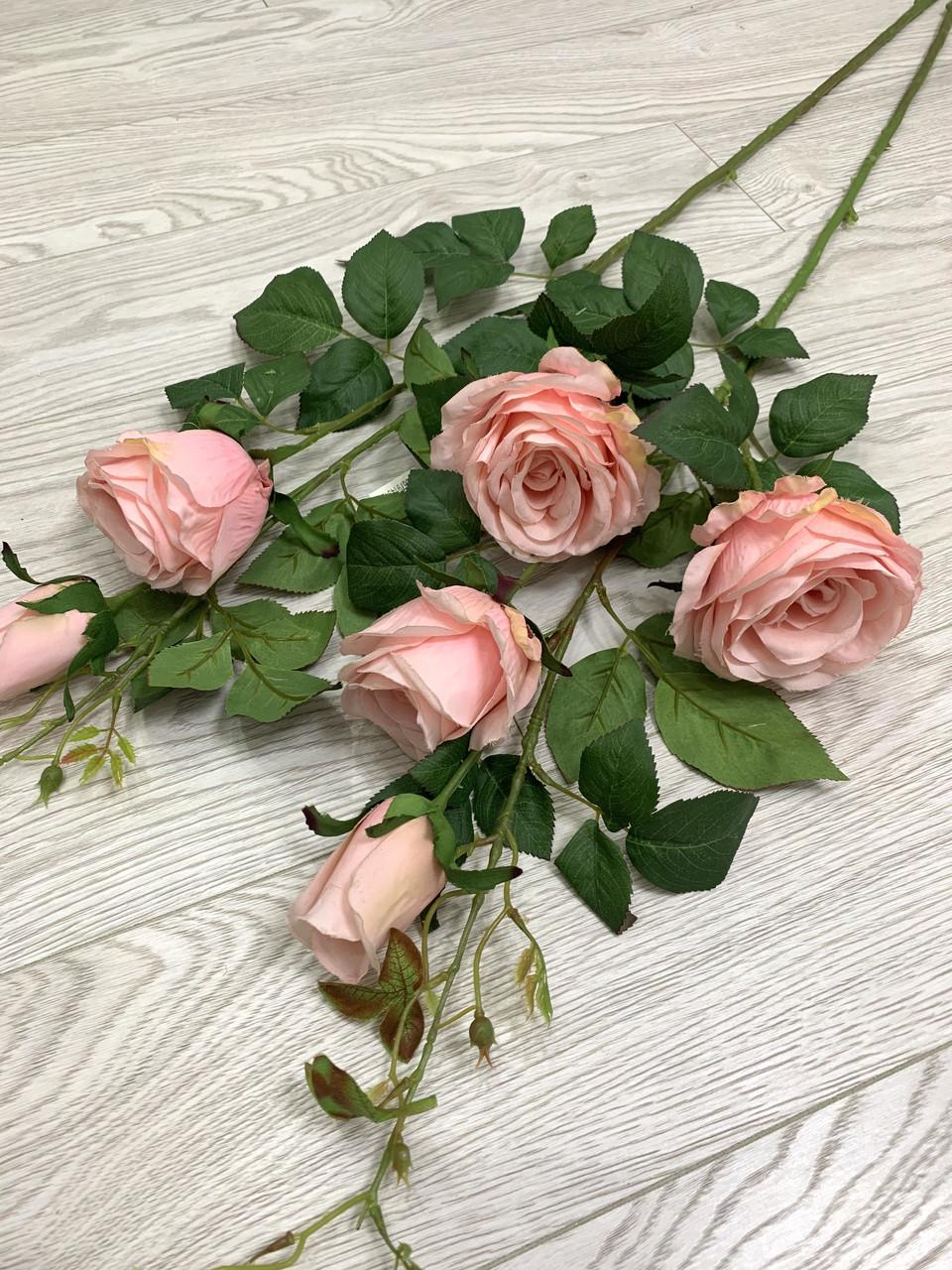 Искусственная Роза для напольной вазы ( имитация натуральной)