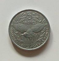 5 франков Новая Каледония 2001 г., фото 1