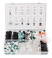 Набор клипс 160 предметов (AUDI), пластиковом органайзере Forsage F-01Z0224