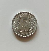 5 центов Восточные Карибы 2010 г., фото 1