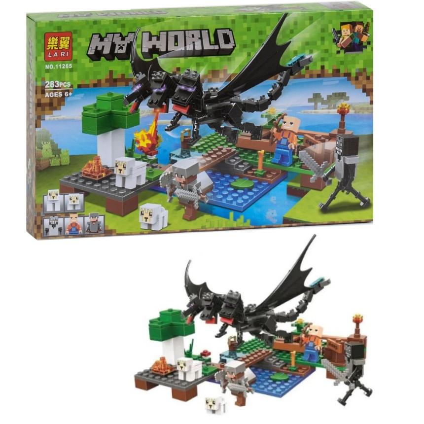 """Конструктор Lari My World """"Нападение черного дракона"""" арт. 11265"""