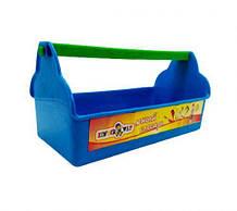Ящик для инструментов синий 32-020