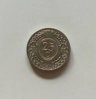 25 центів Нідерландські Антильські острови 2007 р., фото 1