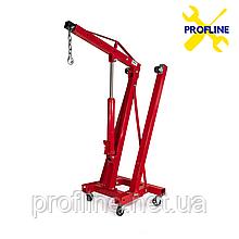 Кран гидравлический подкатной складной (кран-съемник)  2 тонны  Profline  97110(ГАРАНТИЯ 2 года)