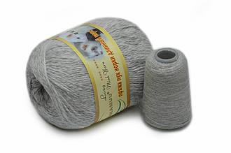 Пряжа из Норки, Светло-серый меланж №802
