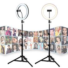 Профессиональная TikTok Led 36 см кольцевая светодиодная лампа 36W для фото / визажиста / блогера / салона