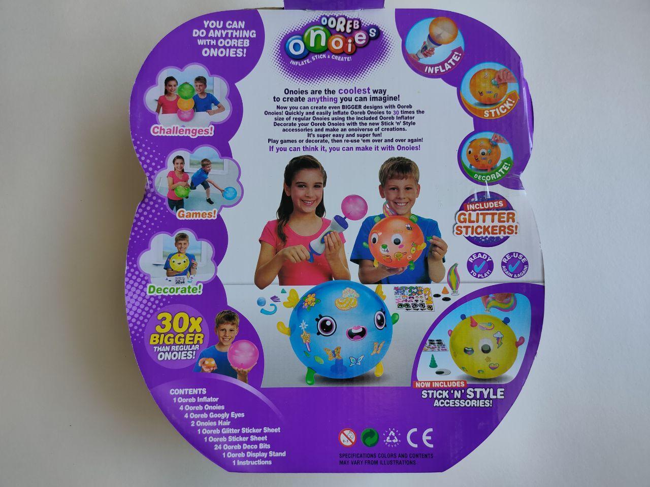 Дитячий ігровий набір для створення іграшок Ooreb Onoies