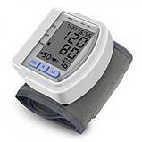 Тонометр цифрової на зап'ясті CK102S Automatic wrist watch Blood Pressure Monitor, фото 3