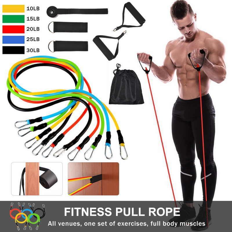 Эспандер грудной для упражнений резинки фитнеса, эспандеры для тренажерного зала