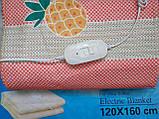 Электропростынь турецкая LUX 120*160 байковая , электро простынь, простынь с подогревом, фото 2