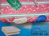 Электропростынь турецкая LUX 120*160 байковая , электро простынь, простынь с подогревом, фото 3