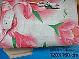 Электропростынь турецкая LUX 120*160 байковая , электро простынь, простынь с подогревом, фото 5