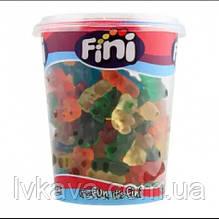 Мармеладные конфеты Fini Neon Bears  в пластиковом стакане, 200 гр