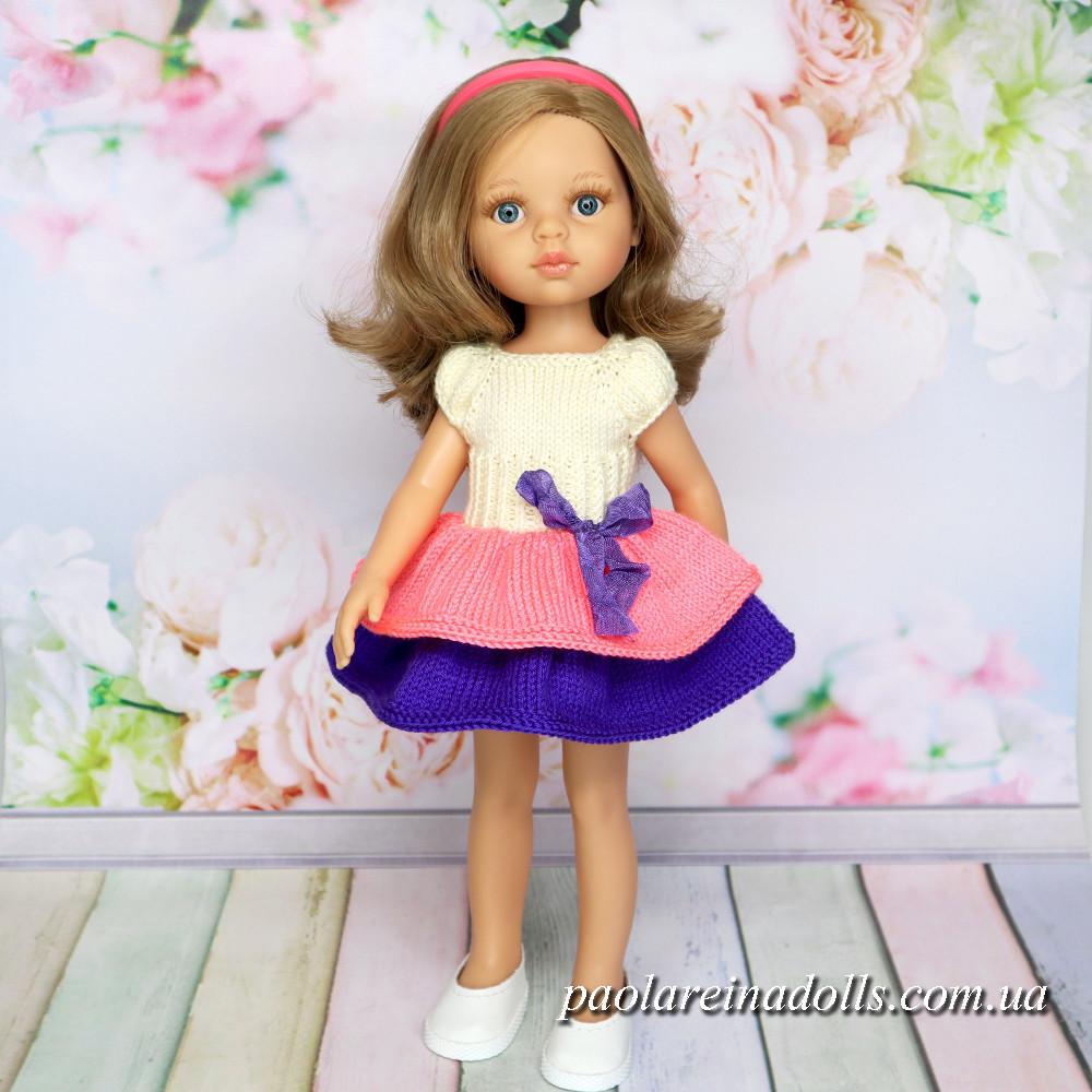 """Платье """"Цветочек"""" для кукол Паола Рейна"""