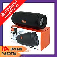 Портативная Bluetooth колонка JBL Charge 4 большая с функцией PowerBank / Блютуз + радио + микрофон