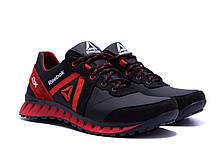 Мужские кожаные кроссовки  Reebok SPRINT TR  Red (реплика), фото 3