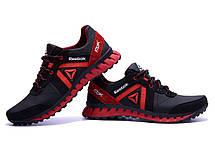 Мужские кожаные кроссовки  Reebok SPRINT TR  Red (реплика), фото 2