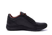 Мужские кожаные кроссовки E Collection (реплика), фото 2