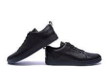 Мужские кожаные кроссовки E Collection (реплика), фото 3