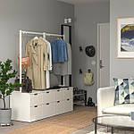 IKEA NORDLI Комод с 8 ящиками, белый, 160x169 см (492.952.08), фото 2