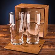 Набор 2-х пивных бокалов с пулей 7.62 мм, фото 2